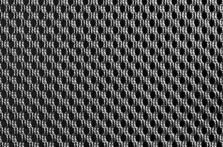 close up of weave texture - metallic look