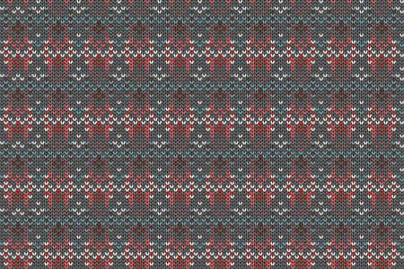 Christmas and Winter holiday knitting pattern