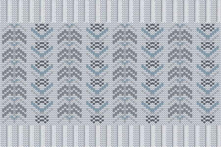 Christmas and Winter holiday knitting pattern for plaid, sweater design.