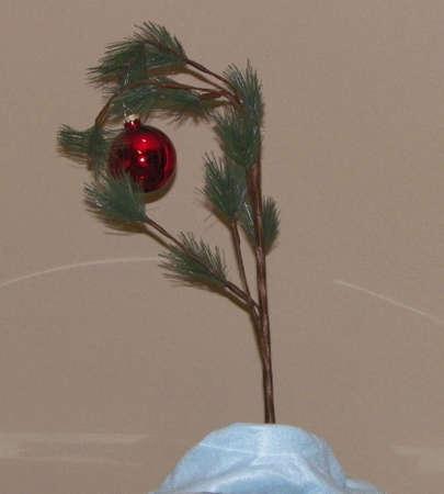 Charlie Brown Christmas Tree Stock fotó