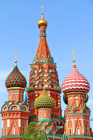 Saint Basil s Cathedral in Moscow, Russia photo