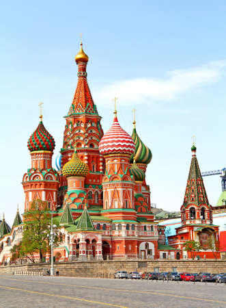 intercession: Intercession Cathedral in Moscow, Russia