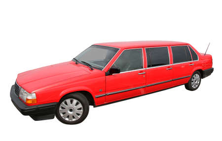 Red limousine photo