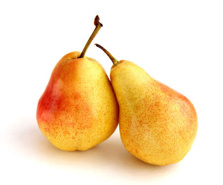 blotched: Two pears