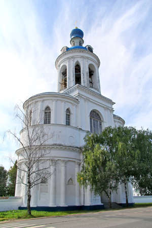 bogolyubovo: Gate bell tower of Svyato-Bogolyubsky nunnery, Bogolyubovo, Vladimir region, Russia Editorial