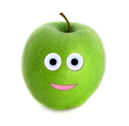 Happy apple photo