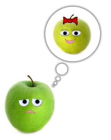 Dreaming apple