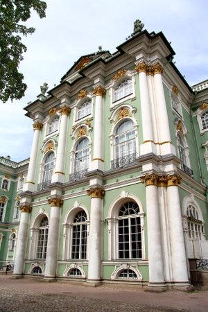 hermitage: Winter Palace (Hermitage) in Saint Petersburg, Russia