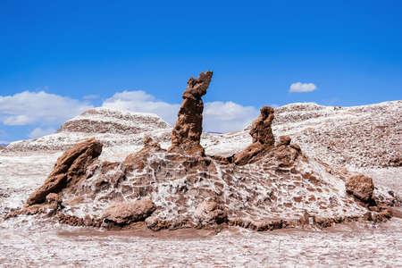 LUNA: The Three Marys in the Valle de la Luna, Atacama, Chile