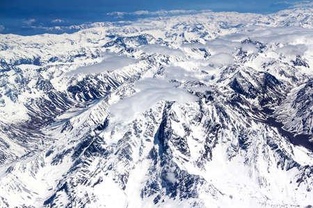 Luftbild der Anden Standard-Bild - 53836069