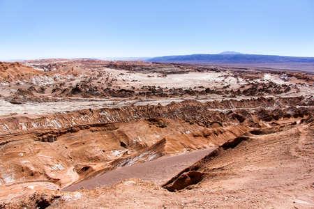 LUNA: The Moon Valley (Valle de la Luna) in the Atacama desert