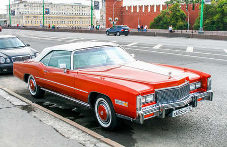 eldorado: MOSCOW, RUSSIA - JULY 9, 2011: Motor car Cadillac Eldorado in the city street. Editorial