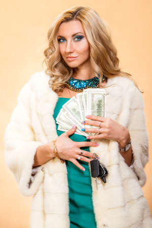 avid: Greedy young woman. Avarice (Avaritia) is one of Seven Deadly Sins.