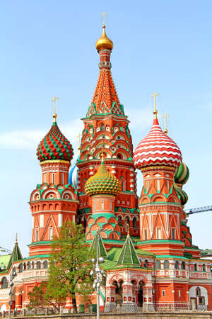 Saint Basils Cathedral in Moscow, Russia