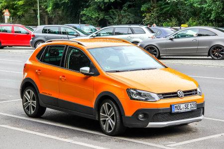 Berlin Germany August 15 2014 Motor Car Volkswagen Cross