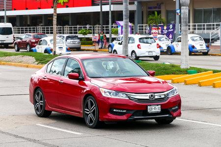 ACAPULCO, MEXICO - MAY 30, 2017: Motor car Honda Accord in the city street. Editorial