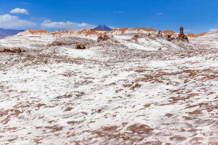 The Moon Valley (Valle de la Luna) in the Atacama desert, Chile