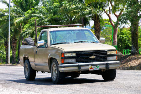 Palenque Mexico May 22 2017 Pickup Truck Chevrolet Cheyenne In The City