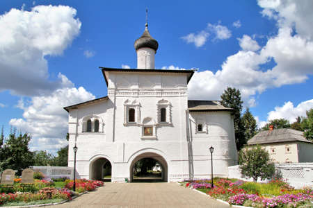 Annunciation Gate Church in Monastery of Saint Euthymius in Suzdal, Russia Stock Photo