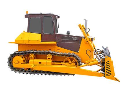 Bulldozer machine Stock Photo