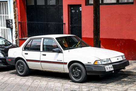 Oaxaca, Mexico - May 25, 2017: Motor car Chevrolet Cavalier in the city street.