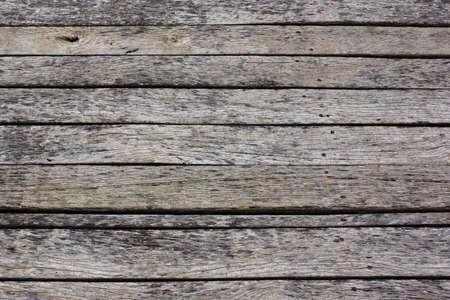 Old Wood Flat Plank Panel Background photo