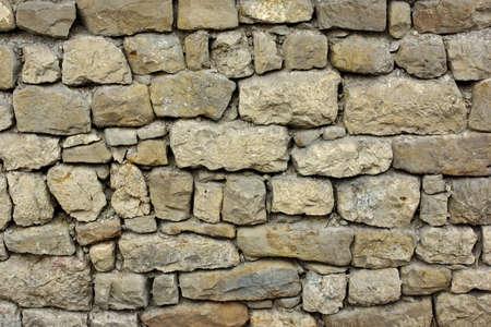 오래된 석조 벽 배경