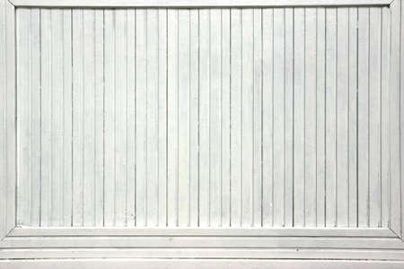 White Wood Boards Advertising Panel Background photo