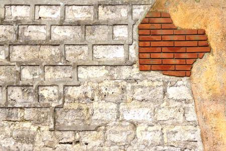 wall decor: White bricks Decor Wall Background