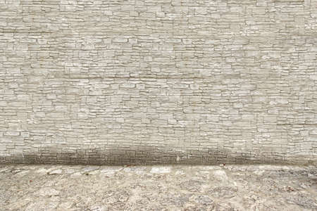 Grey Stone Wall and Floor