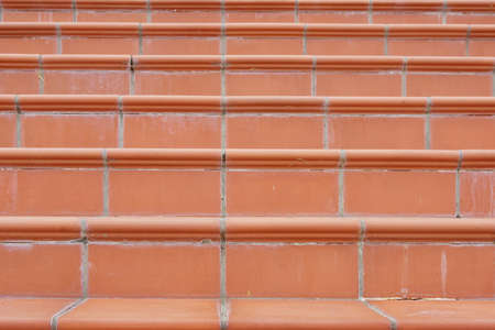 Terracotta Stairs with Calcium Silt photo