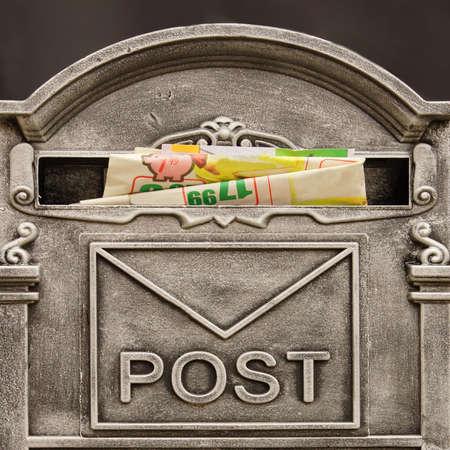 Vintage Mailbox Background photo