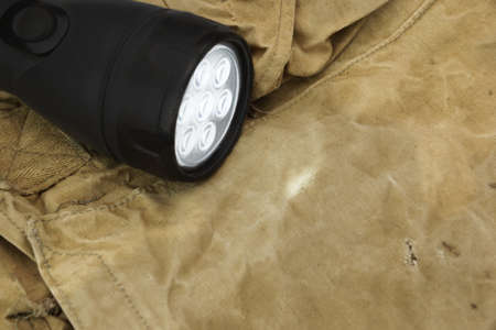 searchlight: Searchlight on Army Handbag.