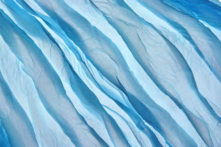 twisty: Abstract Blue Soft Chiffon Fabric Texture or Background Close-up