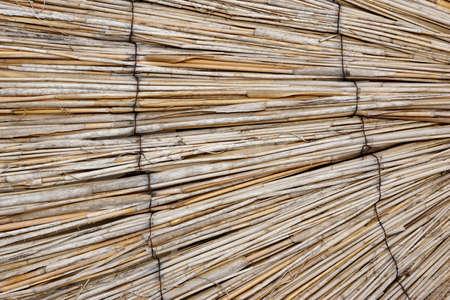 bambou: Natural rideau de bambou ou du parasol ou des stores Perspective de fond et texture avec un espace pour le texte ou l'image