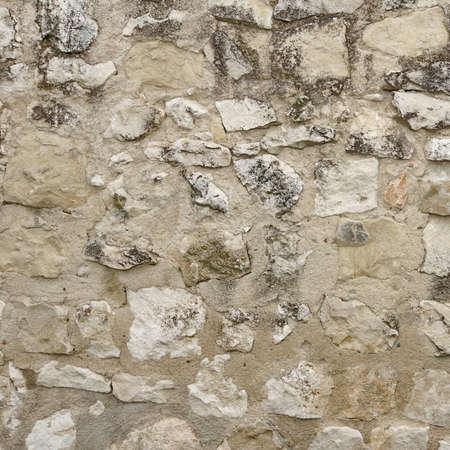 stonework: Granite Stone Wall With Cement Seam, Stonework Frame Background Texture Stock Photo