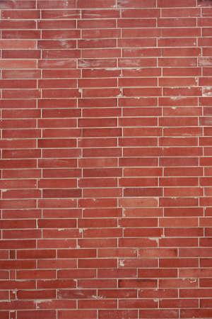 plain stitch: Modern Flat Red Brick Wall Vertical Background Texture With Tilled Pattern