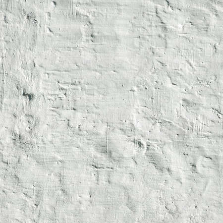 Old Vintage White Brick Wall With Whitewash Painted  Plaster layer Square Background Texture Close Up Stock Photo
