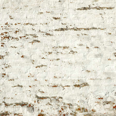 bumpy: White Red Retro Rustic Uneven Bumpy Brick Wall Whitewashed Frame Background Texture