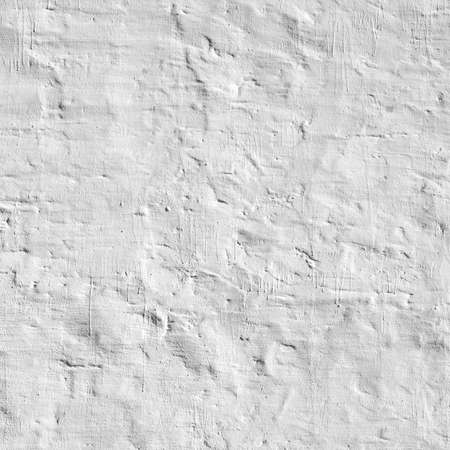 whitewashed: Whitewashed Old Brick Wall Uneven Bumpy Rough Rustic Background Texture Closeup With Copy Space Stock Photo