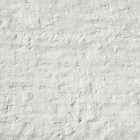 plasterwork: Whitewashed Retro Brick Wall Uneven Bumpy Rough Rustic Background Texture Closeup