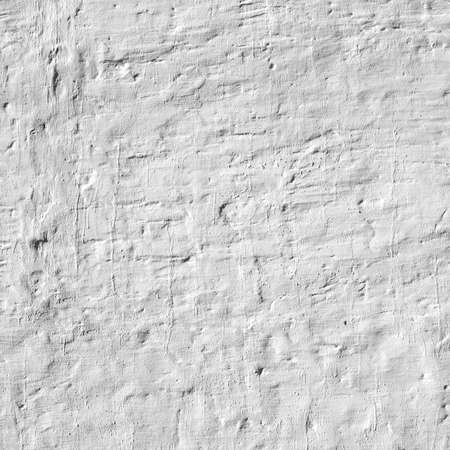 bumpy: Whitewashed Old Brick Wall Uneven Bumpy Rough Rustic Background Texture Closeup With Copy Space Stock Photo