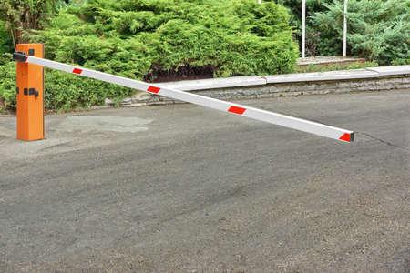 屋外車駐車場管制システム、プライベート エリアで自動上昇の腕の障壁