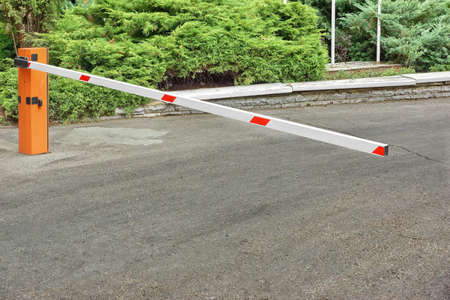 access point: Outdoor Car Parking Control System, Automatic Rising Arm Barrier At Private Area