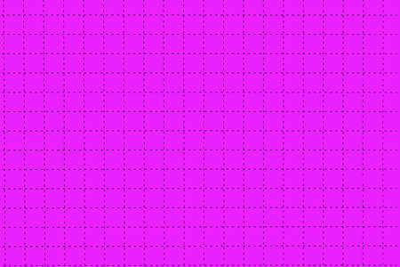 millimeter: Pink Magnetic Plastic Board With Dotted Black Checkered Lines Like As Graph Or Millimeter Paper, Horizontal Background With Space, Close Up, Concept For Creativity Education Or Crossword