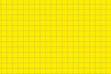 yellow paper: Yellow Magnetic Plastic Board With Dotted Black Checkered Lines Like As Graph Or Millimeter Paper, Horizontal Background With Space, Close Up, Concept For Creativity Education Or Crossword