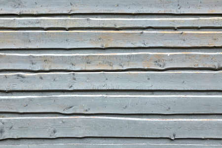 overlapped: Light Blue Wood Wall Background Or Texture From Unedged Overlapped Rough Boards