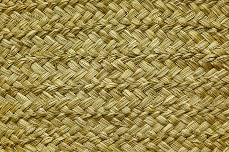 rug weaving: Wicker Rough Straw Background Or Texture, Closeup, Horizontal Image