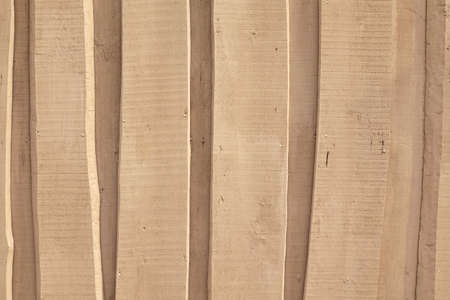 overlapped: Natural Rough  Wooden Wall Or Fence Planks,  Wood Closeboard Texture, Overlapped Timber Boards Weathered Panel, Background Or Texture With Copy Space