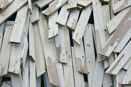 nailing: Abstract Wood  Background Or Texture From Nailing Boards Stack